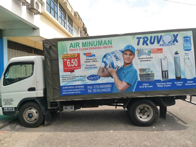 Truvox water 3 Ton Truck for Transportation
